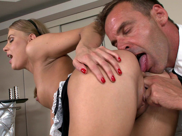 Porn gross, naked woman get cumed on