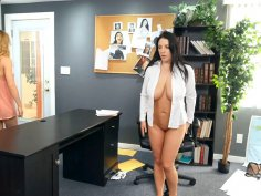 Ivy is sent in to Distract Detective Angela White
