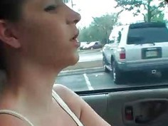 Ex-GF mistaking the gear shift with a big cock