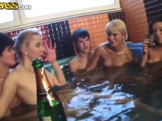 Hardcore orgy in an orgy with horny students casting Daisy, Gail and others
