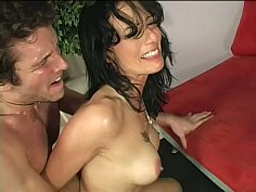 Seduced and fucked by her step-son