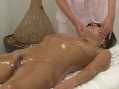 JAV bizarre cum facial massage clinic Subtitles