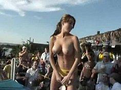 Spring break strippers