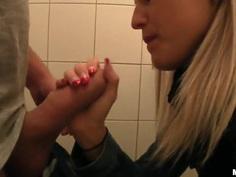 Gorgeous teen Beata demonstrates her secter skills