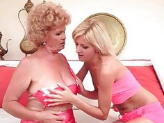 Grannies and Teenies Pussy Licking Compilation
