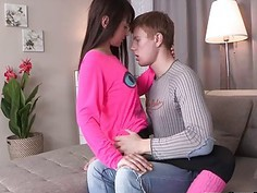 Casual Teen Sex - Casual sex with great cumshot